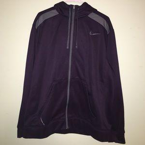 Nike front zip jacket